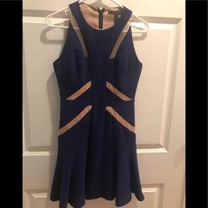 BCBG MaxAzria Blue Dress